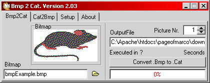 Bmp2Cat Screenshot